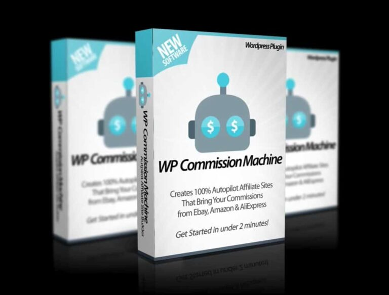 WP Commission Machine Review – Passive eCom affiliate Income from AliExpress, Ebay & Amazon