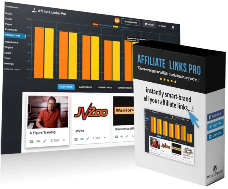 Affiliate Links Pro Review & Demo – How To Brand Your Affiliate Links For Maximum Commission