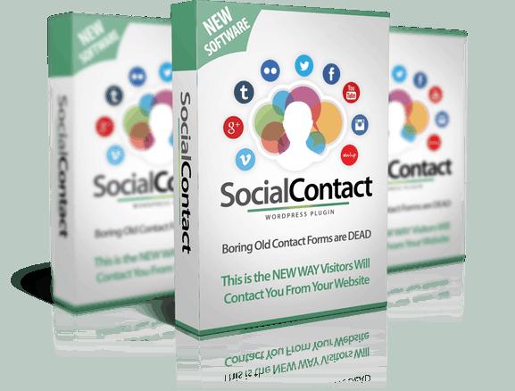 WP Social Contact #SuperchargeDeals