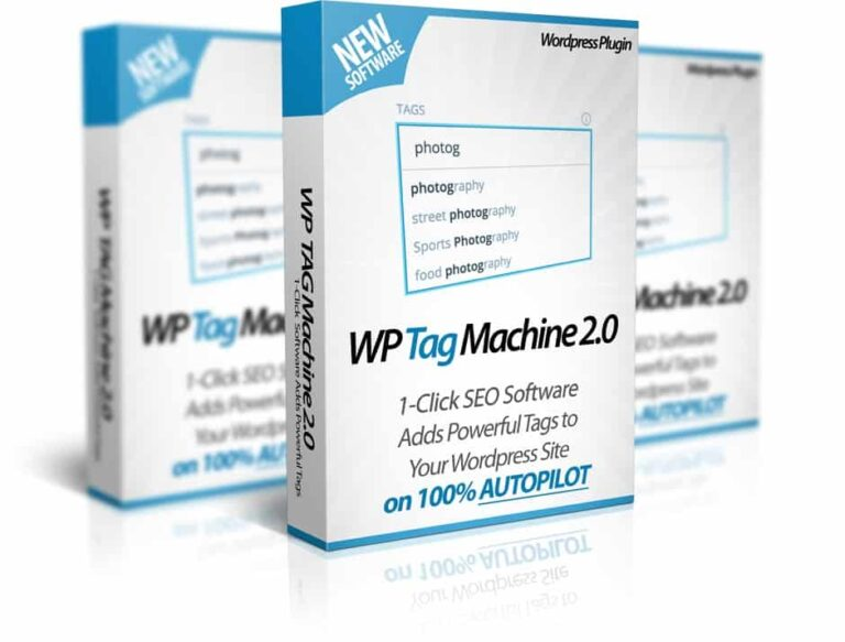 WP Tag Machine 2.0 Review – Add SEO Magic to Your Site in 1-Click