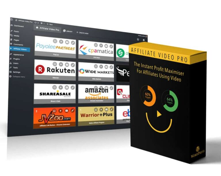 Affiliate Video Pro Review – The Ultimate Software for Affiliates to Use Video